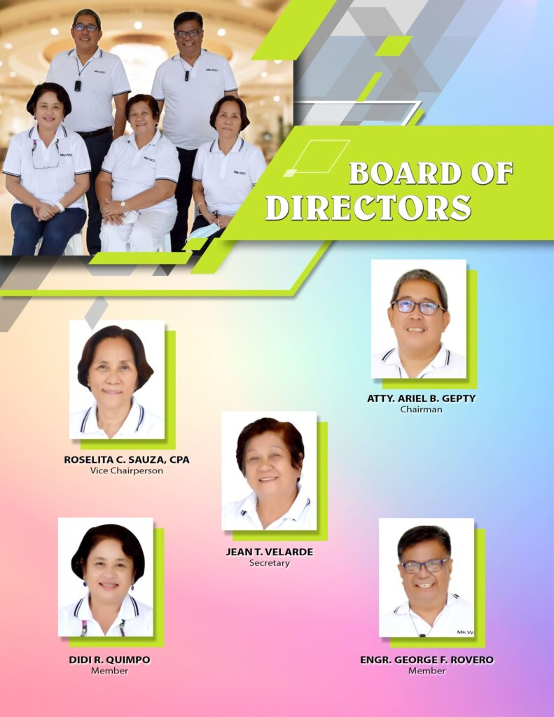 board of directors - About MKWD