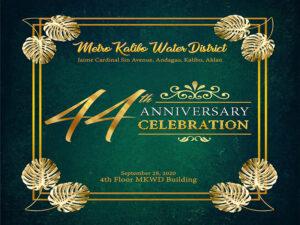 MKWD celebrates its 44th Anniversary!