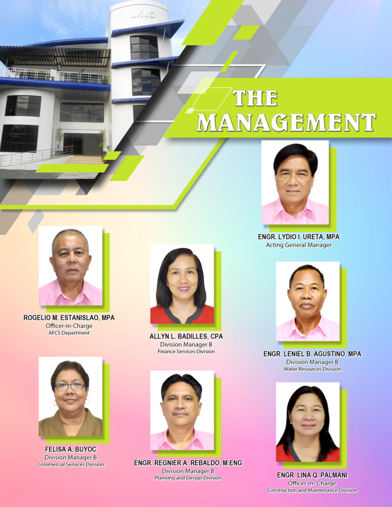 the management - About MKWD