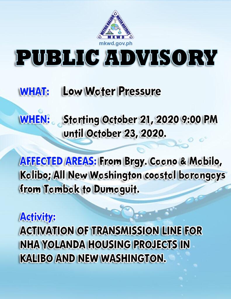 public advisory 102120